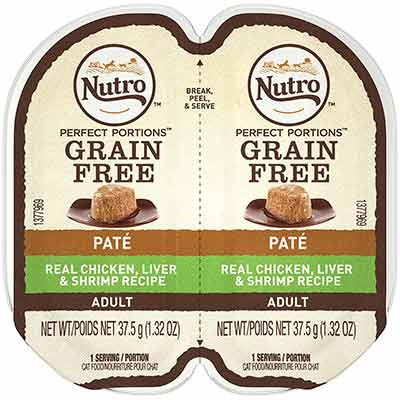 NUTRO Perfect PORTIONS Grain Free Pate Wet Cat Food