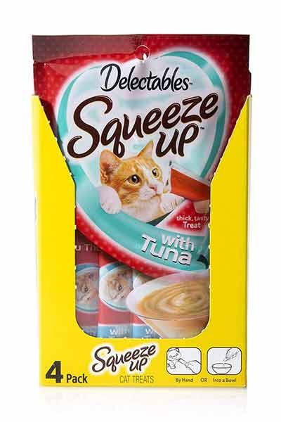 Delectables Bisque Lickable Wet Cat Treats