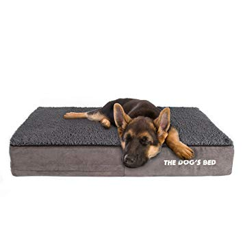 The Dog's Bed, Premium Orthopedic Memory Foam Waterproof Dog Beds