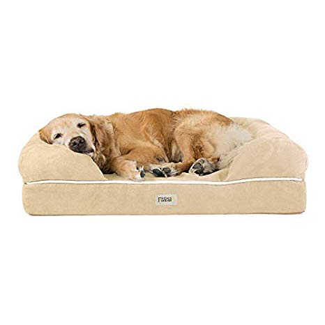 Friends Forever Orthopedic Dog Bed Lounge Sofa Removable Cover 100%