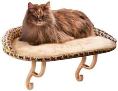 K&H Pet Products Kitty Sill Deluxe with Removable Bolster