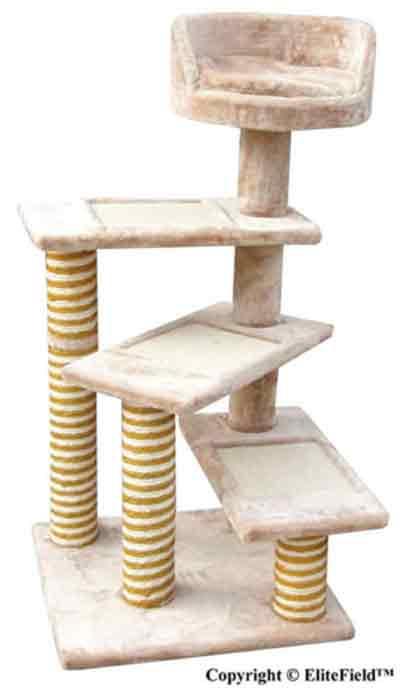 EliteField Cat Tree, Scratcher Furniture Condo House, Multiple