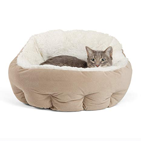 Self-Warming Cat and Dog Bed Cushion for Joint-Relief
