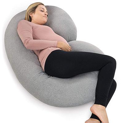 PharMeDoc Pregnancy Pillow, C Shaped Whole Body Pillow