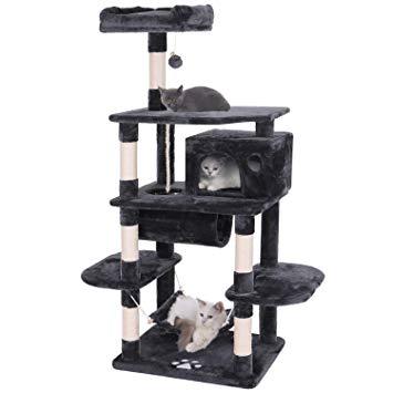 Cat Tree Condo Furniture Kitten Activity Tower Pet Kitty Play