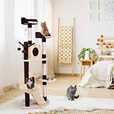 Cat Climber Multi-Level Tower Indoor