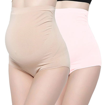 Surewin Women's Seamless Maternity Underwear