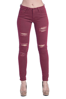 ICONICC Women's Butt Lifting Skinny Jeans