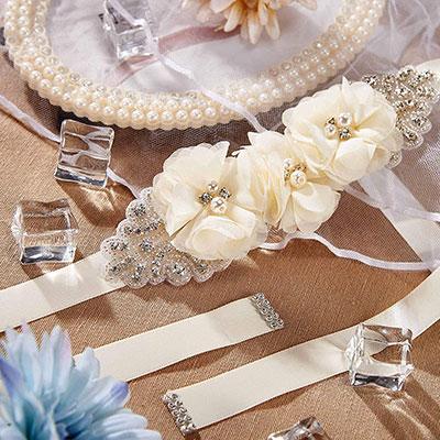 SISJULY Women's Handmade Bridal Belts