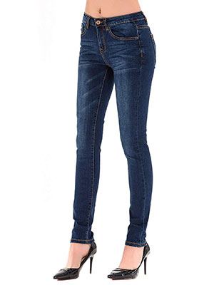 HONTOUTE Women's Skinny Jeans