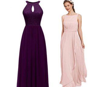 Top 10 Best Bridesmaid Dresses in reviews