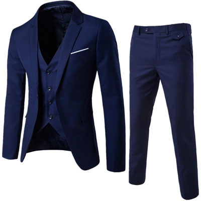 WULFUL Men's Suit
