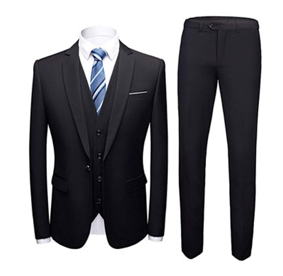 MAGE MALE Men's 3 Piece Suits