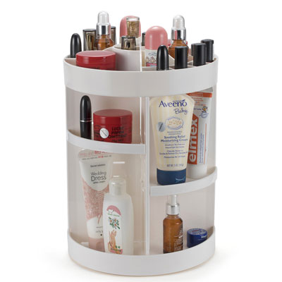 QingSong 360 Degree Rotating Makeup Organizer