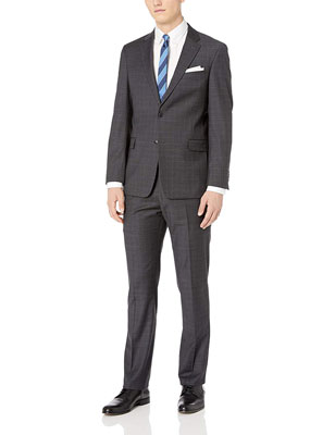 Tommy Hilfiger Men's Modern Fit Suit