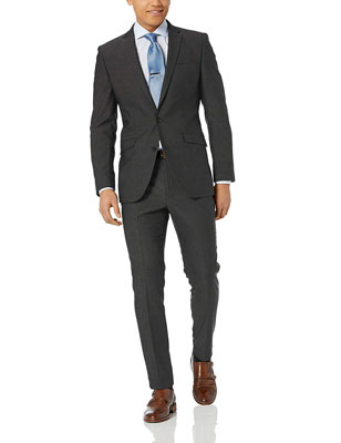 Kenneth Cole Reaction Men's Stretch Slim Fit Suit