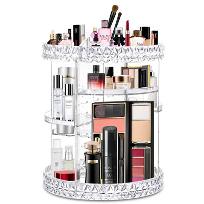 WILLED Acrylic Makeup Organizer