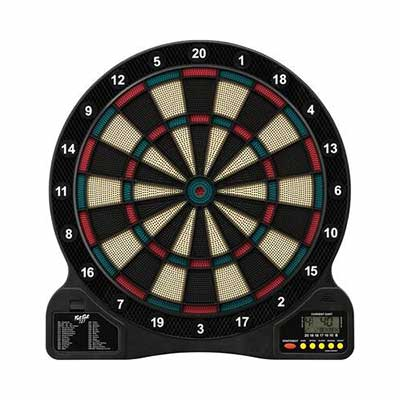#8. GLD Products Fat Cat 727 Electronic Dartboard
