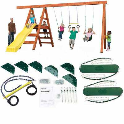 #8. Swing-N-Slide Pioneer ASTM-Approved Sturdy & Reliable Custom DIY Playground Hardware Kit