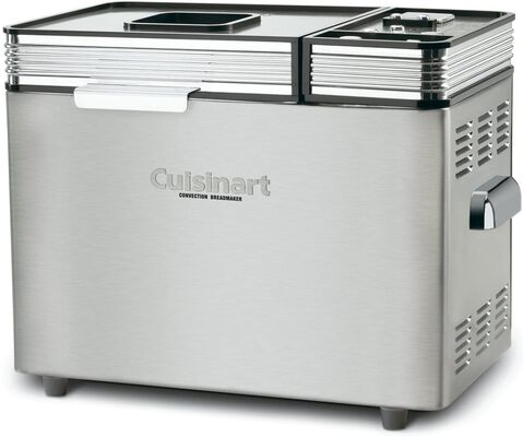 3. CUISINART 680W Convention 16lbs Stainless Steel CBK-200 Bread Maker for Home Bakery