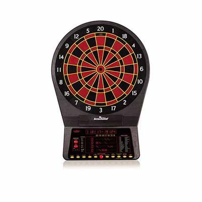 #1. Arachnid Cricket Pro 800 Electronic Dartboard