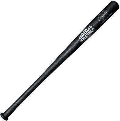 7. Cold Steel 34 Inch Polypropylene Durable Unbreakable Brooklyn Smasher Baseball Bat (Black)