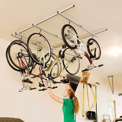#2. Saris Glide Storage Rack for Bike