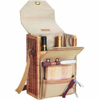 3. Picnic Time Insulated Wine Basket