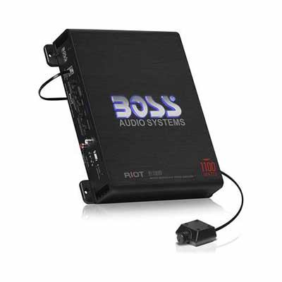 #8. BOSS Audio Systems R1100M Monoblock Car Amplifier
