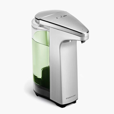 3. Simplehuman 8oz capacity battery operated touchless automatic soap dispenser