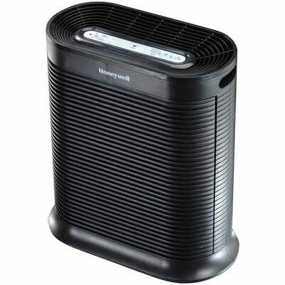 1. HONEYWELL Extra-Large Room Turbo Clean HPA300 True HEPA Black Air Purifier