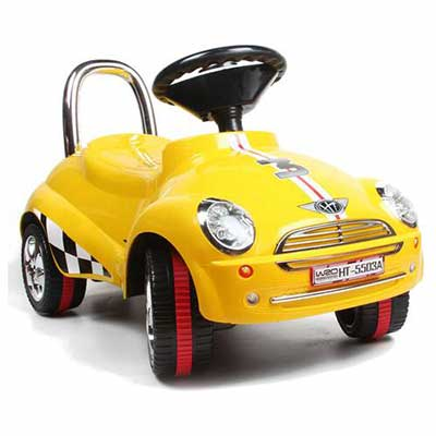#8. Amazing Tech 3-in-1 Depot Ride On with Light and sound Car Toy