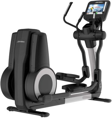 4. Life Fitness Cross Trainer Machine with a Quiet Drive System and Over-Sized Pedals