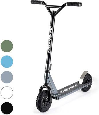 #6. Osprey Dirt Scooter, All Terrain Trail Adult Scooters