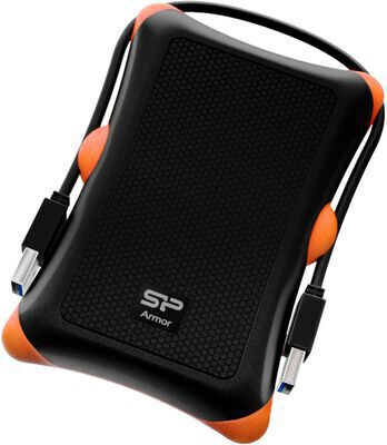10. SP SILICON POWER Portable 1 TB Rugged Shockproof USB 3.0 External Hard Drive