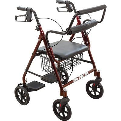9. ProBasics Aluminum Rollator Walker with Seat