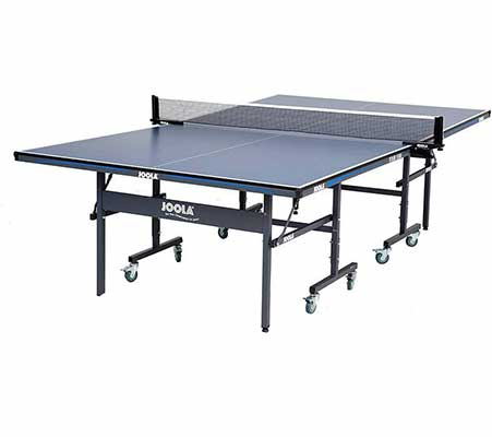 #4. JOOLA Tour MDF Indoor USATT Approved Ping Pong Table Tennis Table w/Single Playback Mode