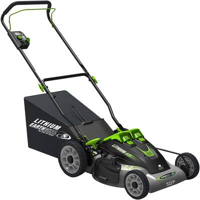 2. Earthwise 60420 Cordless Electric Lawn Mower
