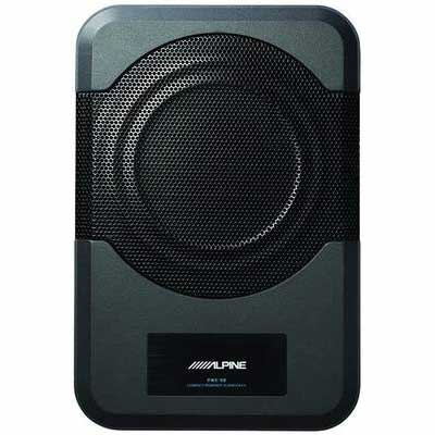 #2. Alpine Electronics PWE-S8 Restyle Compact Subwoofer