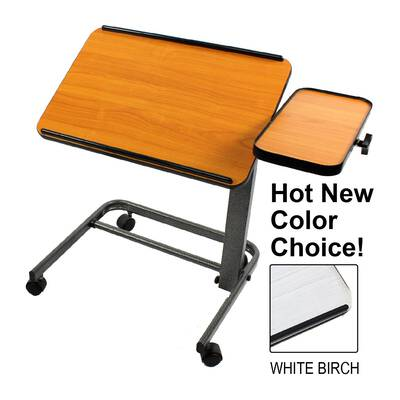 #6. Platinum Health with Tilting & Adjustable Height Casters Acrobat Professional Over Bed Laptop Table