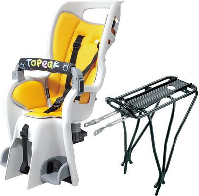 1. Topeak Baby Seat with a Shoulder Harness