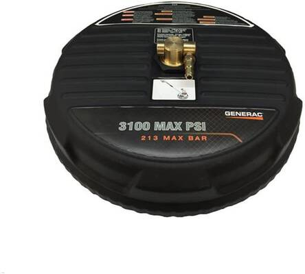 5. Generac 6132 15Inch 3100 PSI Flexible Bristles Heavy-Duty High-Pressure Surface Cleaner
