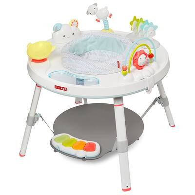 #9. Skip Hop Multi-Color 3-Stage Interactive Activity Center Silver Lining Cloud for Baby