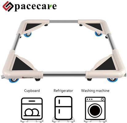 #9. SPACECARE Mobile Roller with 4 Locking Wheels