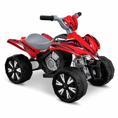 5. Kid Motorz Xtreme 6V Quad Red Ride On