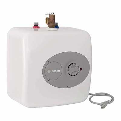 #8. Bosch ES4 Shelf Wall/Floor Mounted T4-Gallon Tronic 3000 Electric Mini-Tank Water, Heater