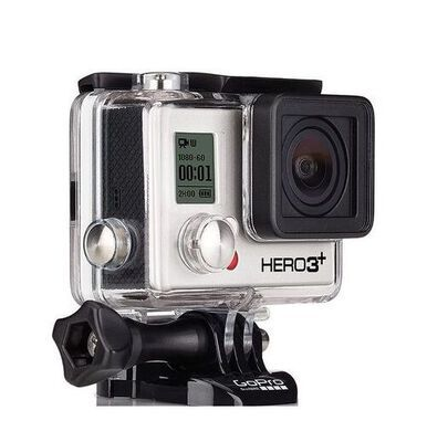 2. Amazon Renewed 4K Adventure Black Edition WIFI Action Camera with Bluetooth Support
