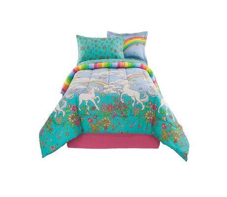7. Kidz Mix Unicorn Bedding, Multicolor