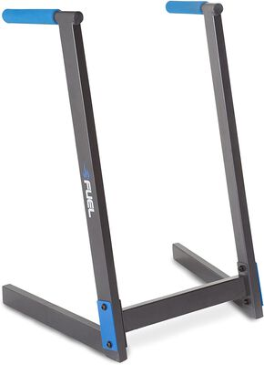 8. Fuel Performance Black Sturdy Dip Bar Training Station for Chest Flyes and Chest Dips