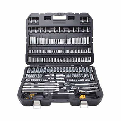 #6. DEWALT DWMT75049 192-Pcs Easy-One-Hand Operation Portable Mechanic's Tool Set